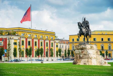 Skanderbeg-Square-Tirana-Albania